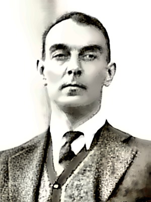Writer Ring Lardner