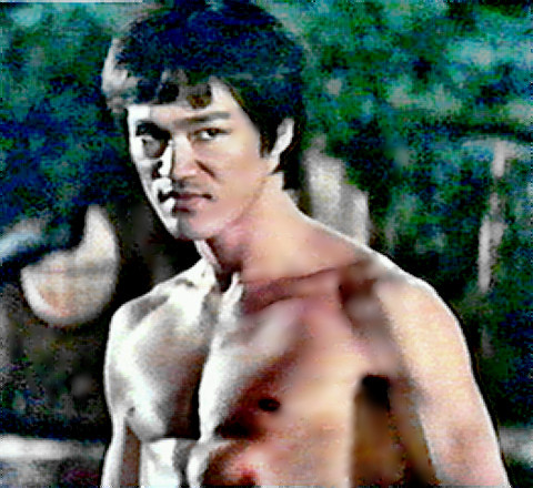 Martial Arts Star Bruce Lee