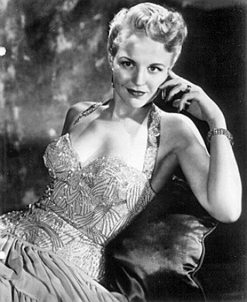 Singer Peggy Lee
