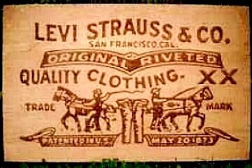 The Levi label
