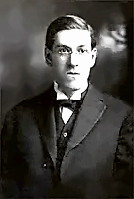 Writer H.P. Lovecraft