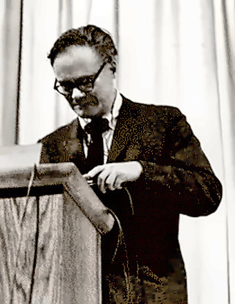 Poet Robert Lowell