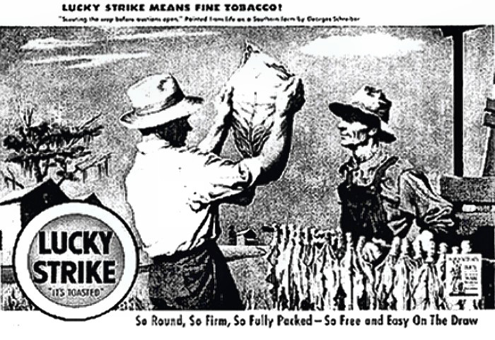 Old Lucky Strike Ad