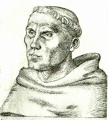 Monk Martin Luther