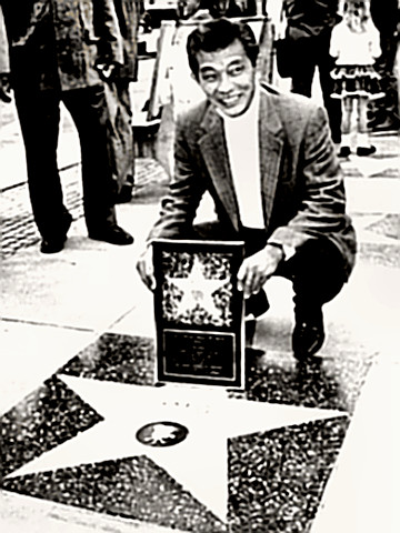 Mako's Walk of Fame star