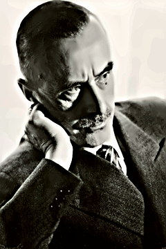 Author, Essayist Thomas Mann