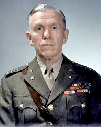 General George Marshall, US Army