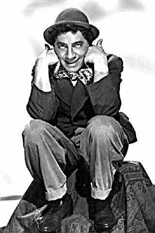 Comedian Chico Marx