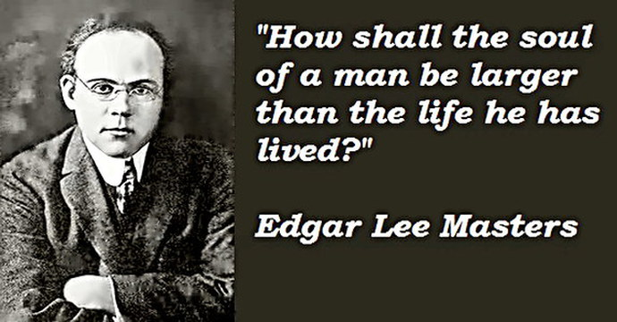 Poet Edgar Lee Masters