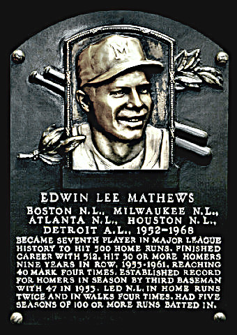 Hall of Famer Eddie Matthews