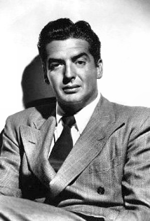Actor Victor Mature