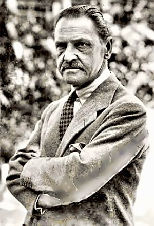 Writer W. Somerset Maugham