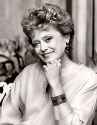 Actress Rue McClanahan