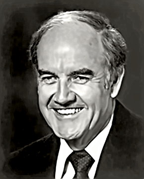 Politician George McGovern