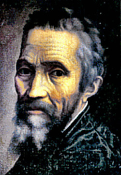 Michelangelo self-portrait