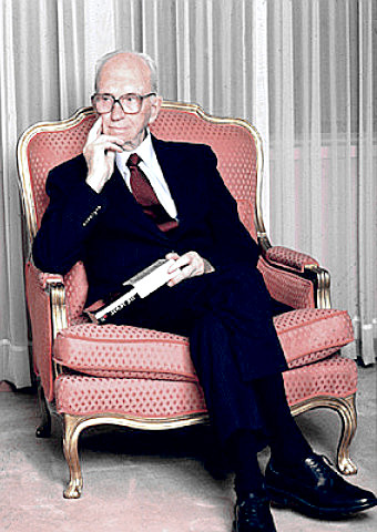Writer James A. Michener