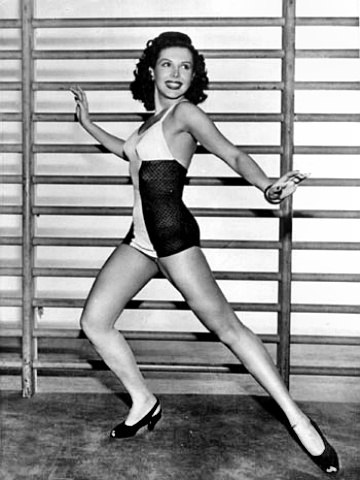 Dancer Ann Miller