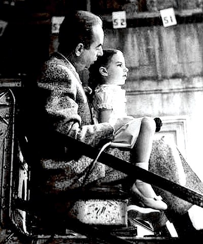 Director Vicente Minnelli with daughter