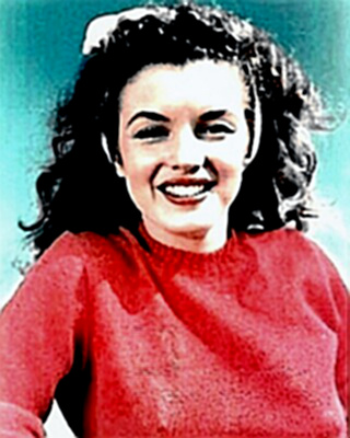 Marilyn Monroe - just a youngster