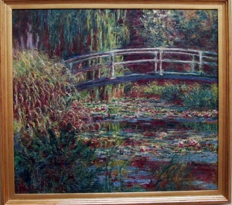 Monet - Waterlily Pond