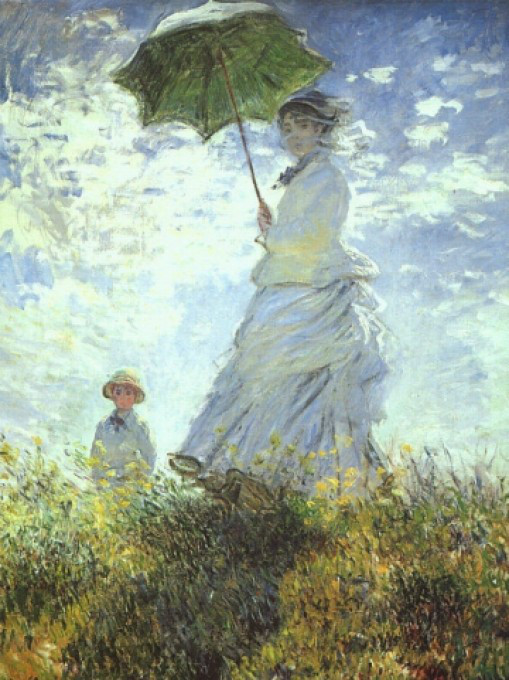 Monet - Lady with Parasal