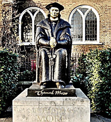 Sir Thomas More's statue