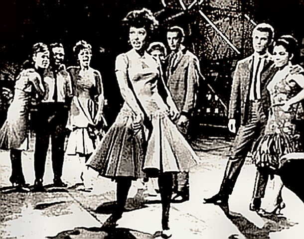 Actress, Dancer Rita Moreno in West Side Story