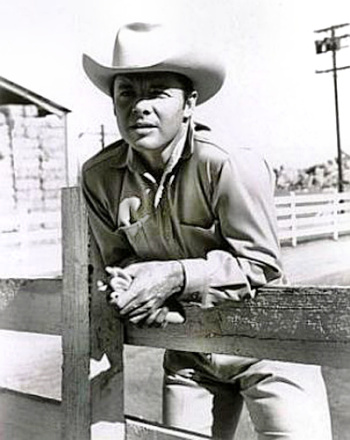 Actor Audie Murphy