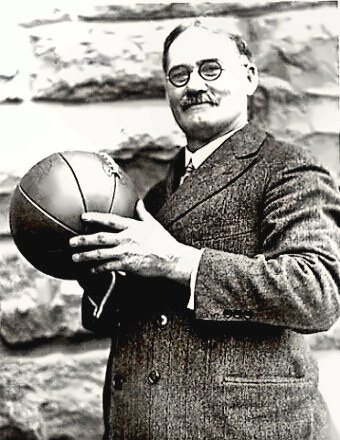 Basketball Coach James A. Naismith