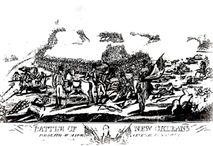 Battle of New Orleans - print
