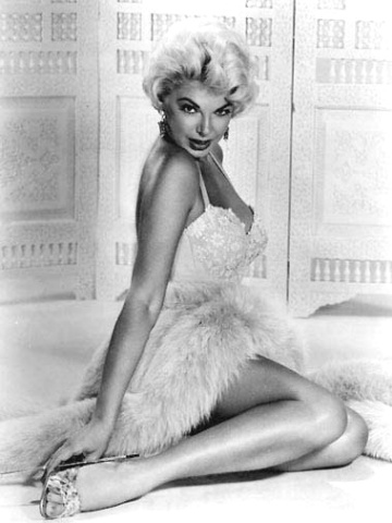 Actress Barbara Nichols