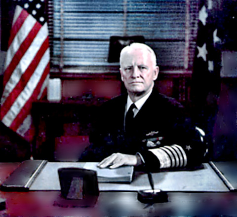 Fleet Admiral Chester Nimitz - Formal