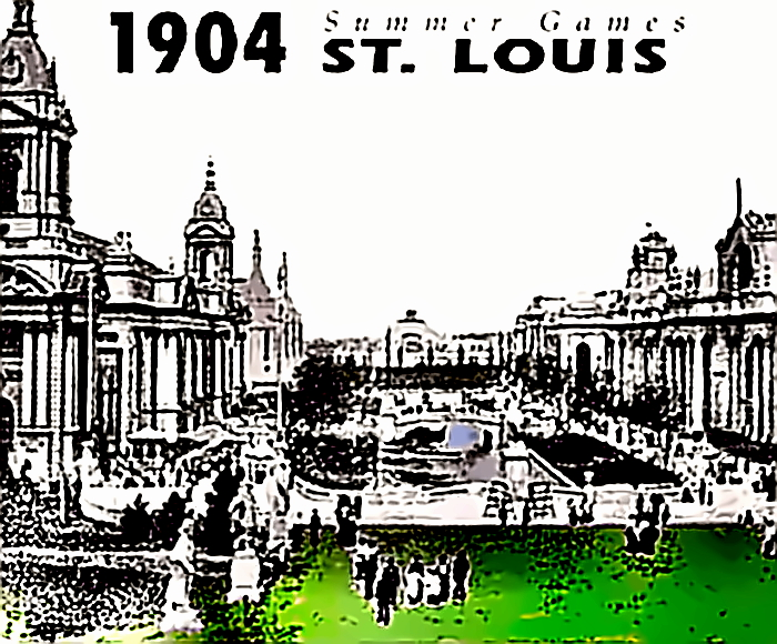 1904 Olympics in St. Louis - first games held in the USA - not very successful