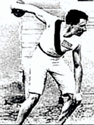 Olympics discus throw 1896