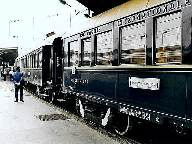 The Orient Express cars