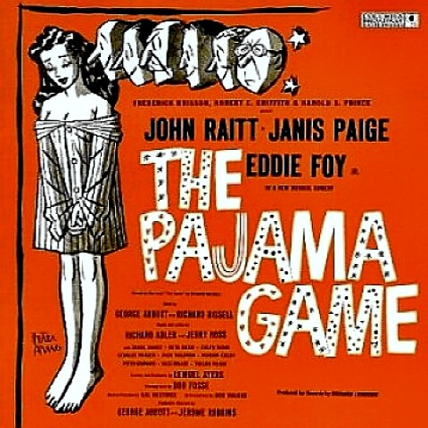 The Pajama Game Album Cover