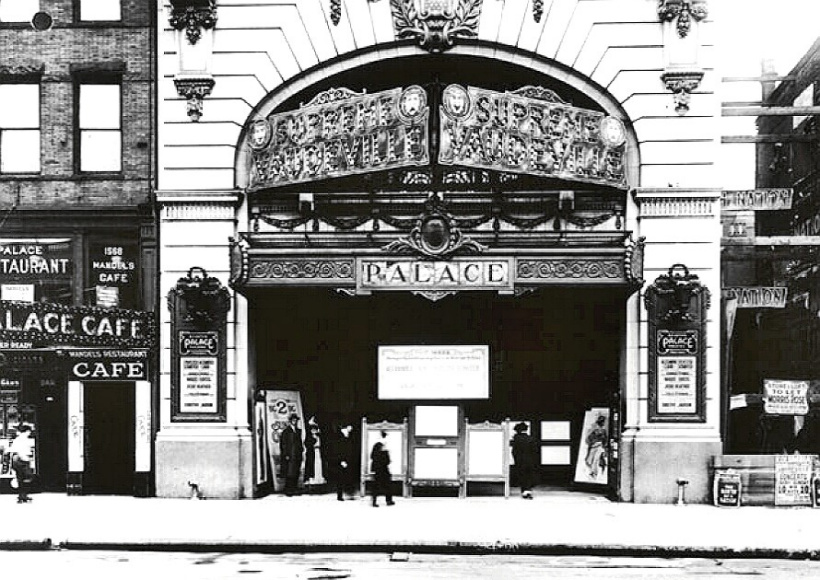 Palace Theatre, 1564 Broadway, New York City