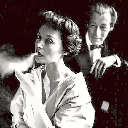 Actress Lilli Palmer with Rex Harrison