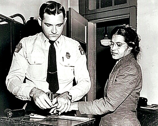 Rosa Parks - her arrest and booking