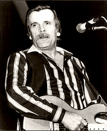Singer Johnny Paycheck