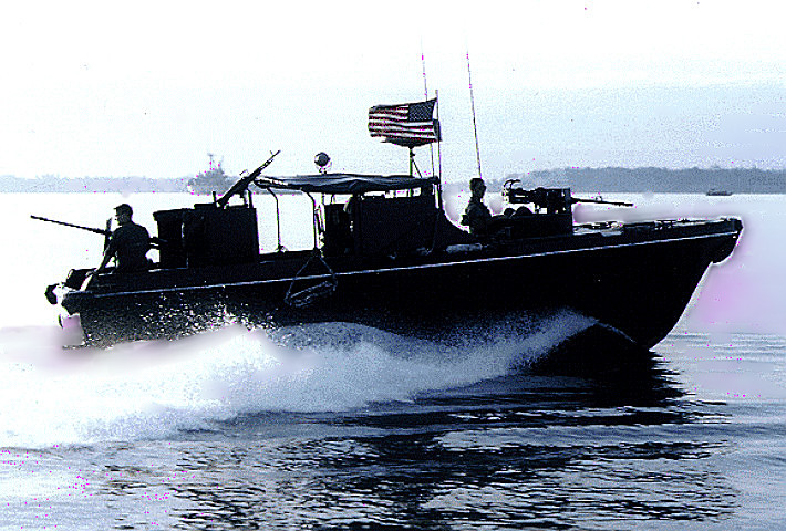 PBR (River Patrol Boat) on-step