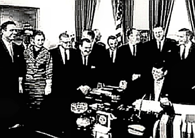 Peace Corps Signing by President Kennedy