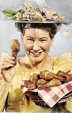 Comedienne Minnie Pearl