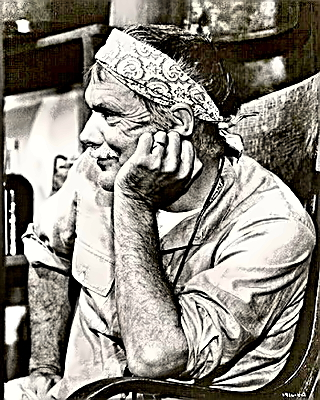 Director Sam Peckinpah