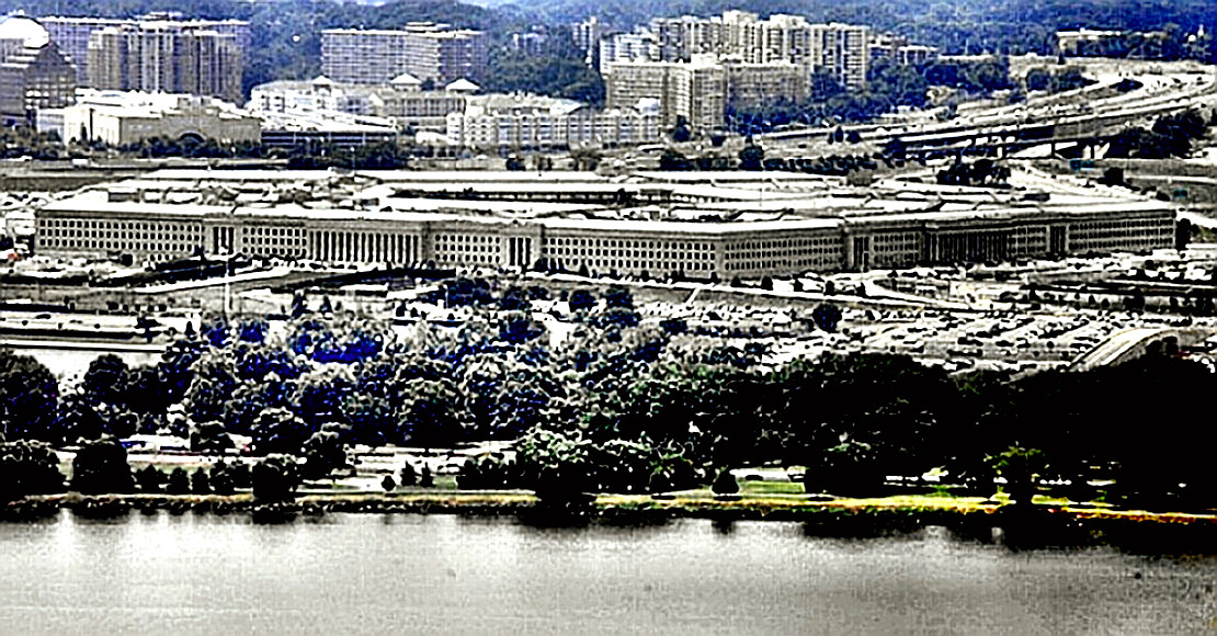Pentagon - view from Patomic River