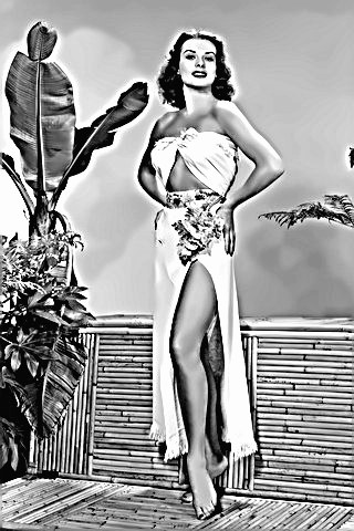 Actress Jean Peters