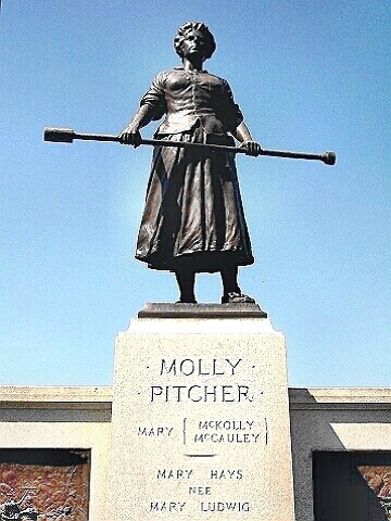 Heroine Molly Pitcher