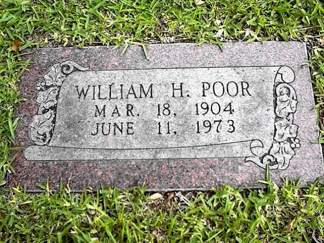 poorwilliam h