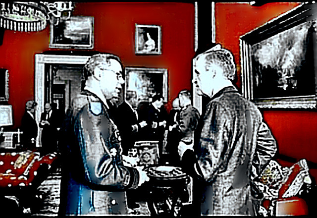 General Powell with Bush the Elder