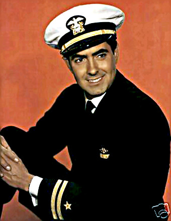 Actor Tyrone Power